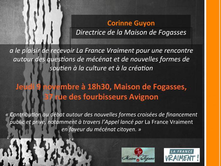 Invitation Réunion AVIGNON Nov 17